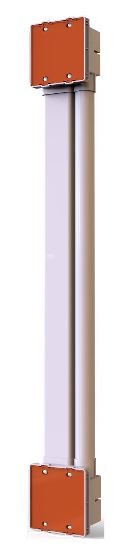 PVC 弱电屏蔽/家装影音信号屏蔽组合理线器