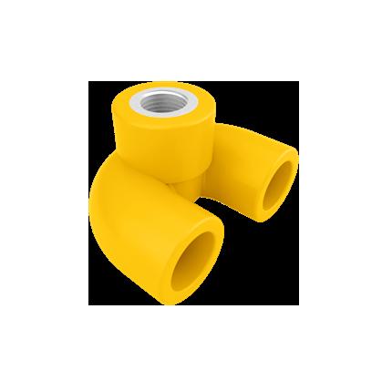 PP-R 全净/U型回水内螺纹弯头