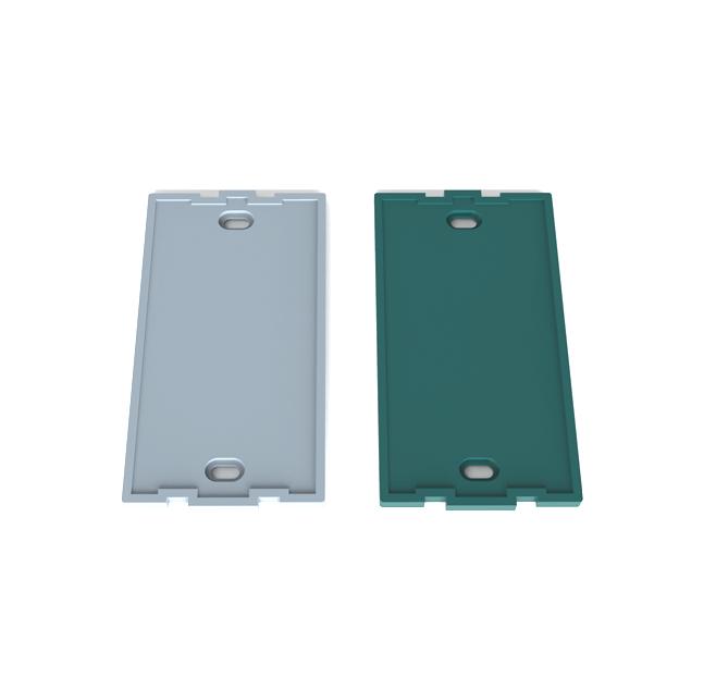 PVC-U 全净电工/120型暗盒 防尘盖板(小)