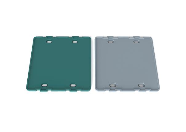 PVC-U 全净电工/120型暗盒 防尘盖板(大)