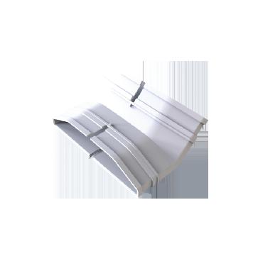 ABS 新风/地送风立45°弯