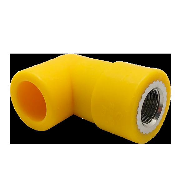 PP-R 全净/ 家电保护内螺纹 90°弯头(6cm)