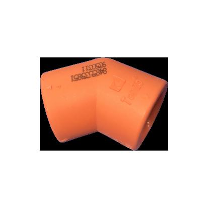 PP-R 橙优/45°弯头