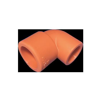PP-R 橙优/90°异径弯头
