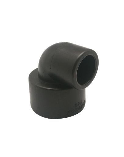 PE 热熔承插/90°异径弯头