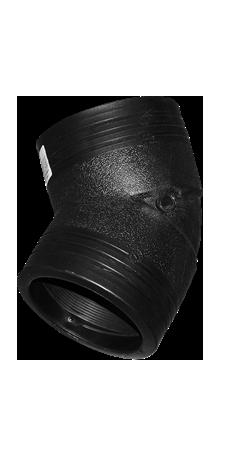 PE钢丝网增强/电熔45º弯头